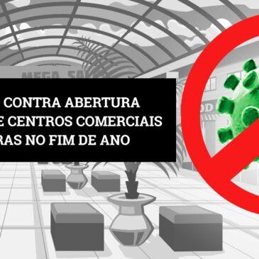 Sindicato é contra abertura de shoppings e centros comerciais por 24 horas no fim de ano