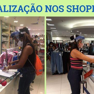 Sindicato fiscaliza shoppings no feriado e cobra medidas de proteção