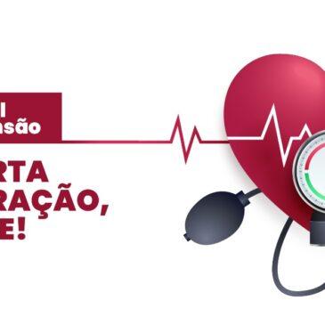 É possível evitar a hipertensão. Não parta meu coração, cuide-se!