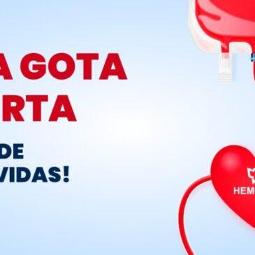 Hemorio lança campanha para doação de sangue durante todo o mês