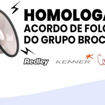 Homologado acordo de folgas do grupo Brockton