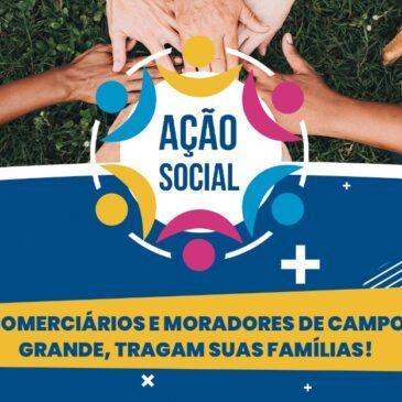 Sindicato promove dois dias de Ação Social em Campo Grande
