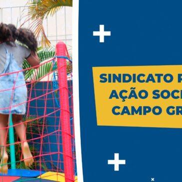 Sindicato realiza ação social em Campo Grande