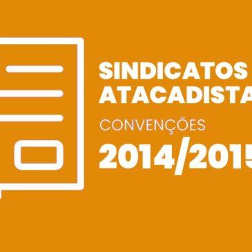 Sindicatos Atacadistas 2014 / 2015