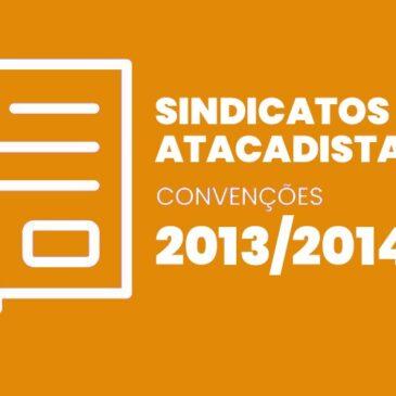 Sindicatos Atacadistas 2013 / 2014