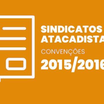 Sindicatos Atacadistas 2015 / 2016
