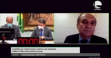 Coordenador-geral do Sindjus-DF defende inadmissibilidade da PEC 32 em debate na CCJC