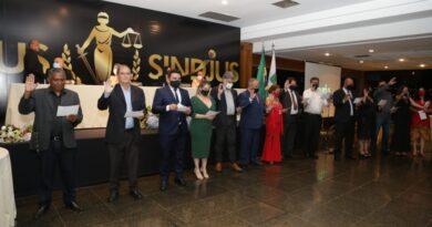 Diretoria do Sindjus-DF toma posse com o compromisso de dar continuidade ao excelente trabalho realizado na gestão anterior