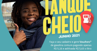 Tanque Cheio: retire seus vouchers de gasolina ou diesel S10 a partir desta quarta-feira (16)